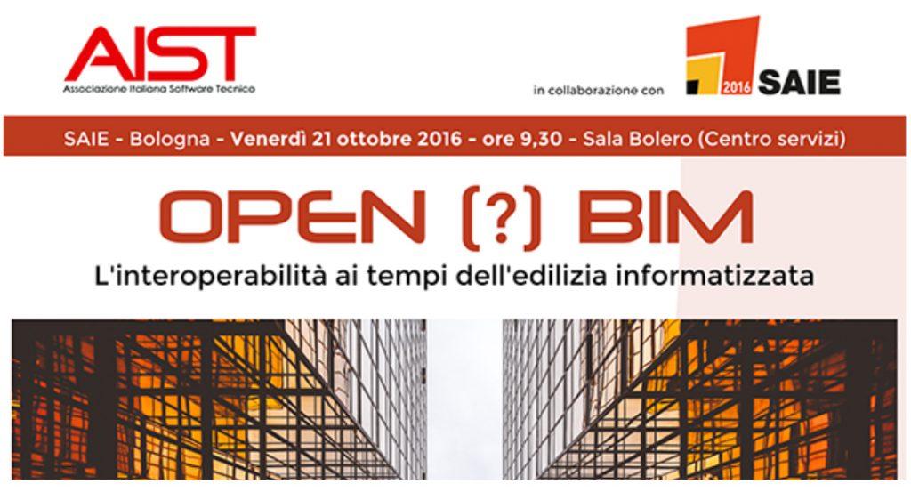 L'Open BIM al SAIE 2016