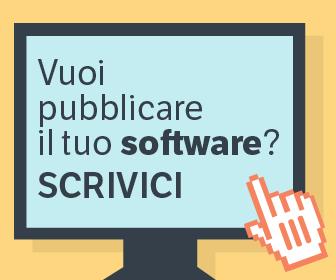 Vuoi pubblicare il tuo software? Scrivici!