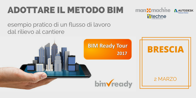 BIM Ready Tour fa tappa a Brescia
