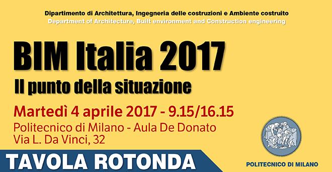 BIM Italia 2017: il punto della situazione