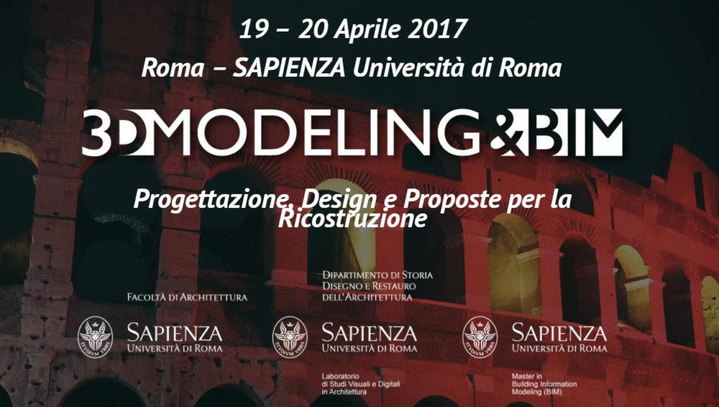 3D Modeling e BIM a Roma
