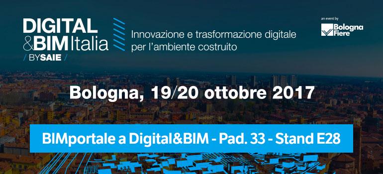 DIGITAL&BIM Italia: l'innovazione digitale va in scena