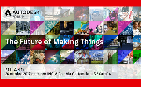 L'Autodesk Forum sbarca a Milano