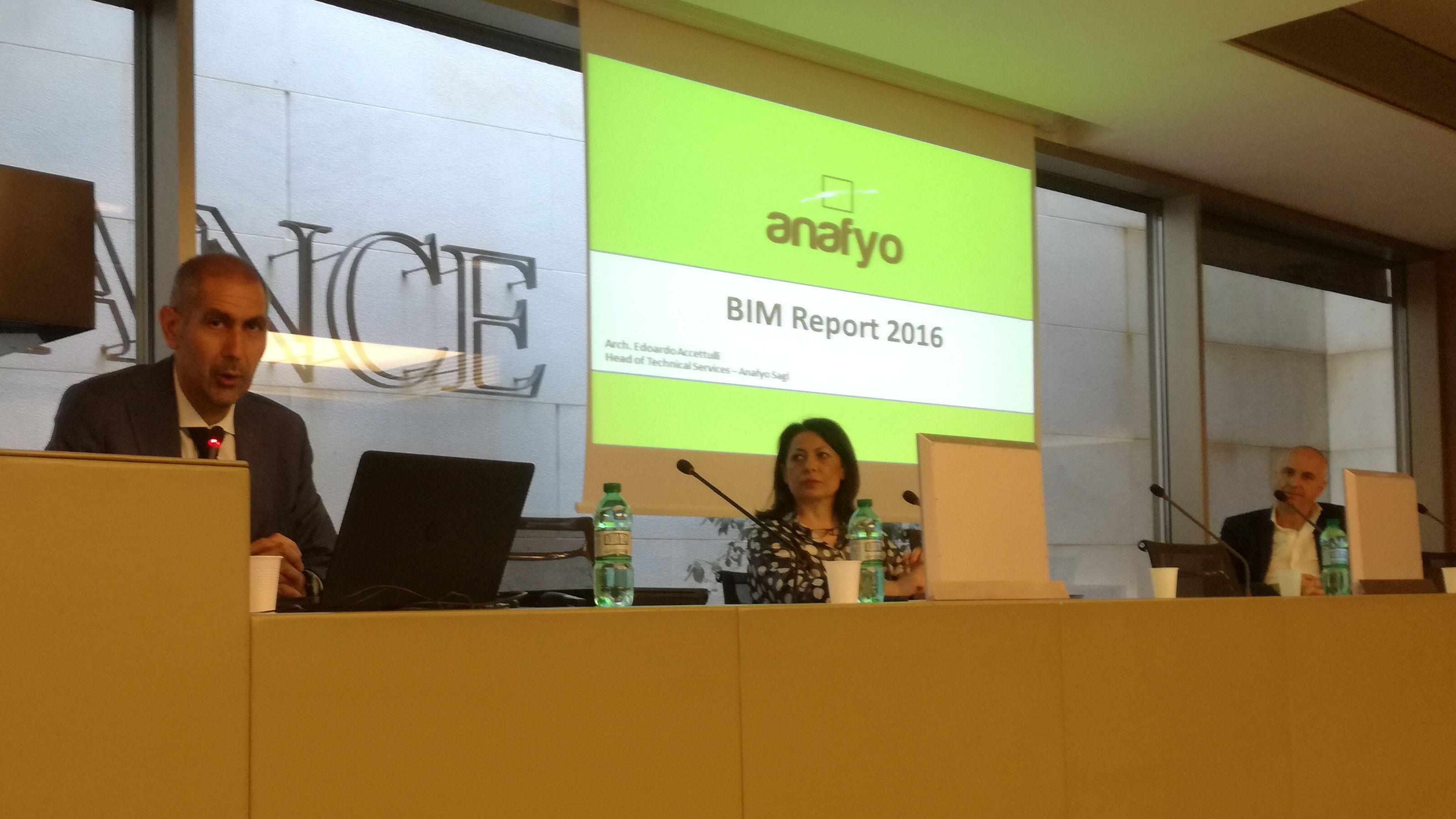 BIM Report 2016: tra presente e futuro