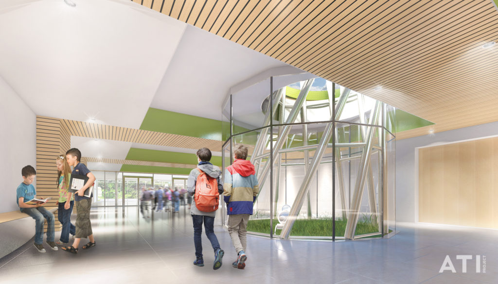 la nuova scuola elementare di via brocchi a milano bim