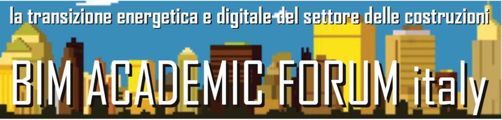 BIM Academic Forum Italy #3