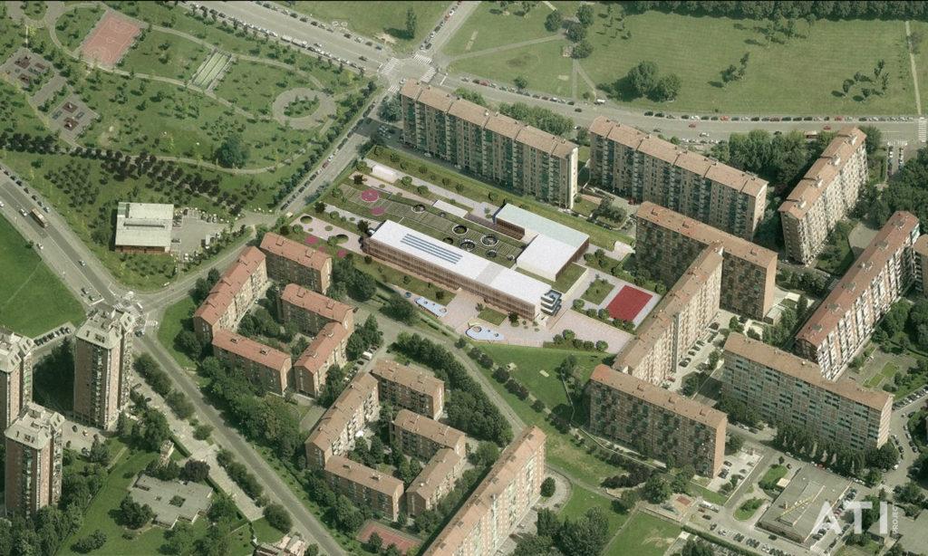 La nuova scuola elementare di via Brocchi a Milano