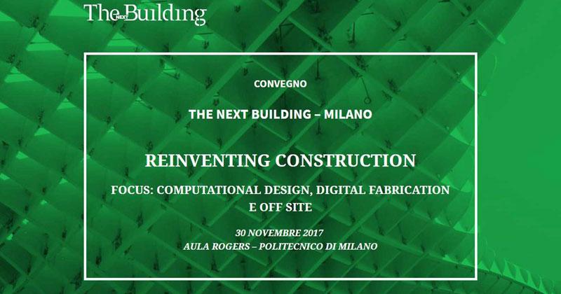 Reinventing Construction: una nuova via alle costruzioni  attraverso BIM