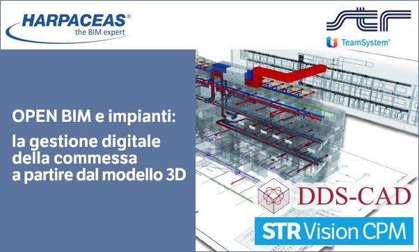 Open BIM e Impianti: la gestione digitale della commessa a partire dal modello 3D