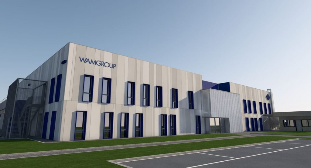 La rinascita del polo produttivo Wamgroup di Cavezzo