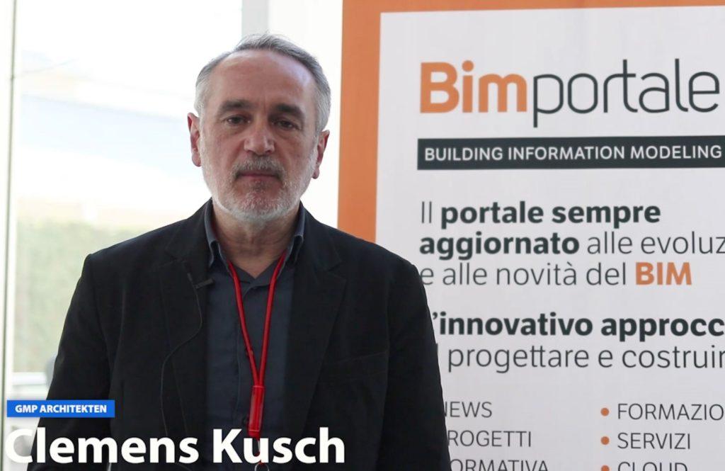 I video di BIMportale: Clemens Kusch di GMP Architekten parla del nuovo Palacongressi di Rimini a Talks 2018