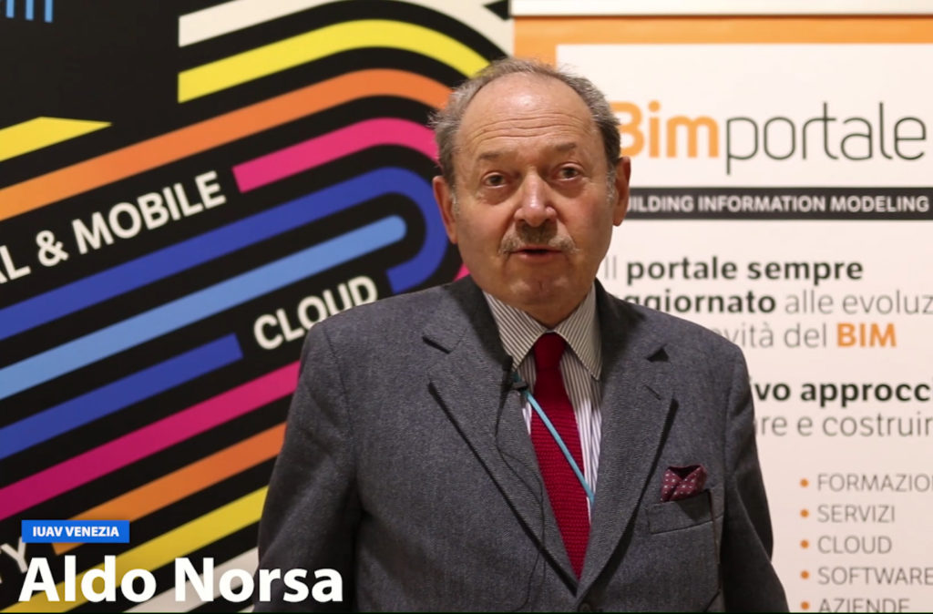 I video di BIMportale: Aldo Norsa a Talks 2018