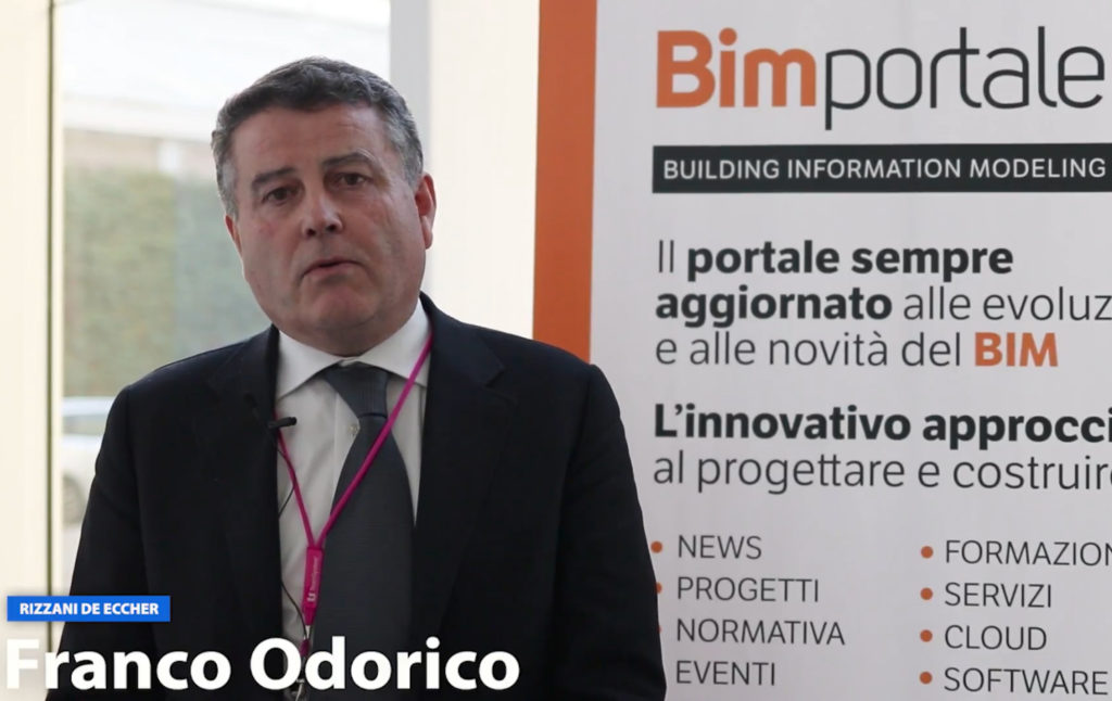 I video di BIMportale: Franco Odorico di Rizzani de Eccher parla della VTB Arena a Talks 2018