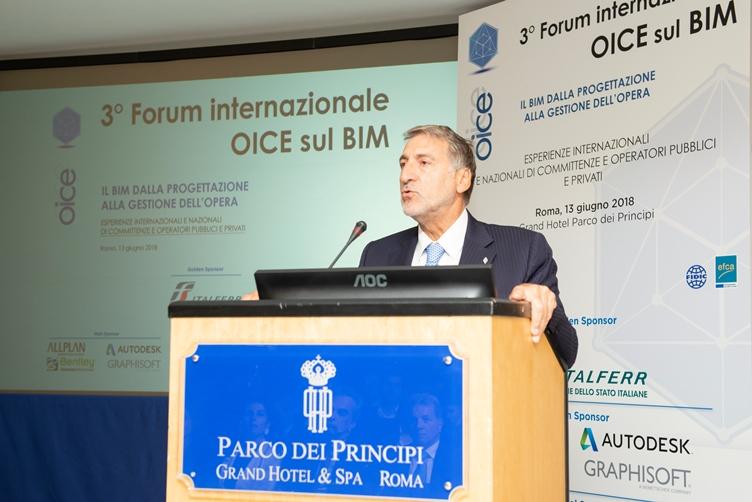 Italferr presenta il Libro Bianco sul BIM al 3° Forum OICE