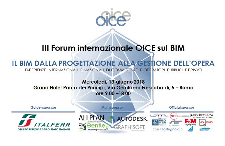 3° Forum Internazionale OICE sul BIM