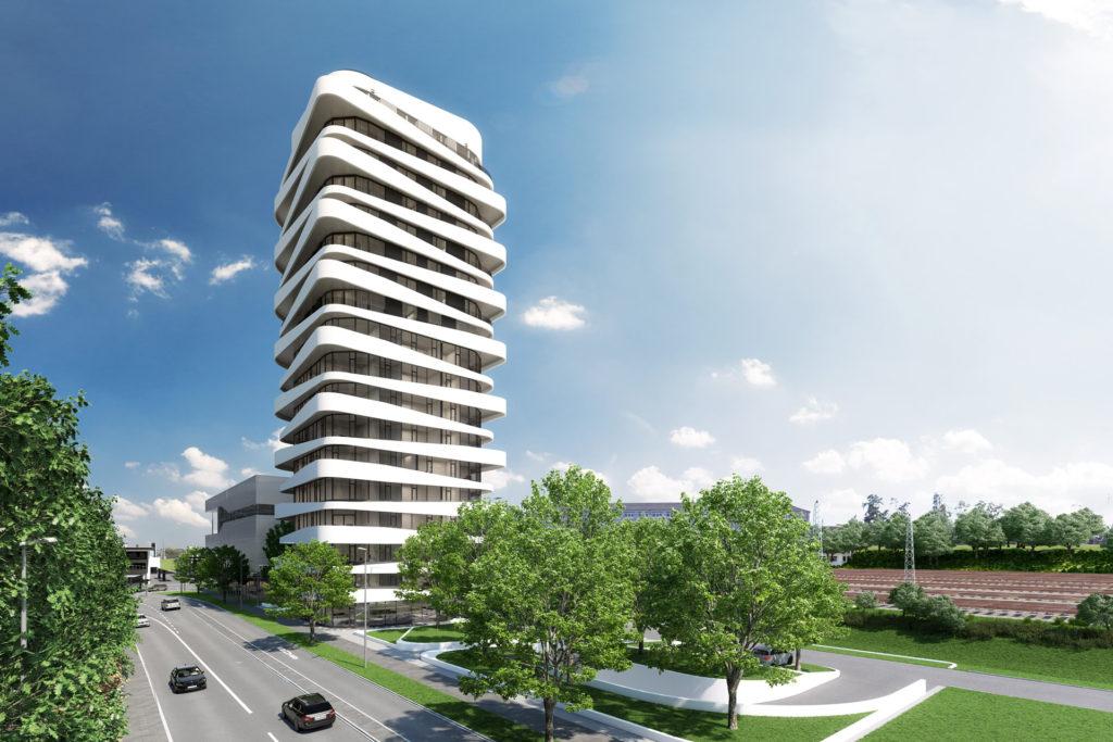 SKY Tower a Bietigheim-Bissingen: sempre più in alto con Allplan Architecture