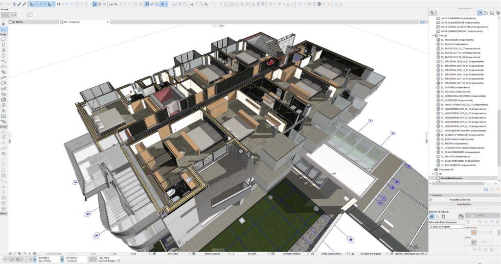 ARCHICAD è partner del percorso BIM di D.Vision Architecture