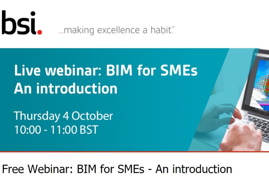 BIM for SMEs – An introduction
