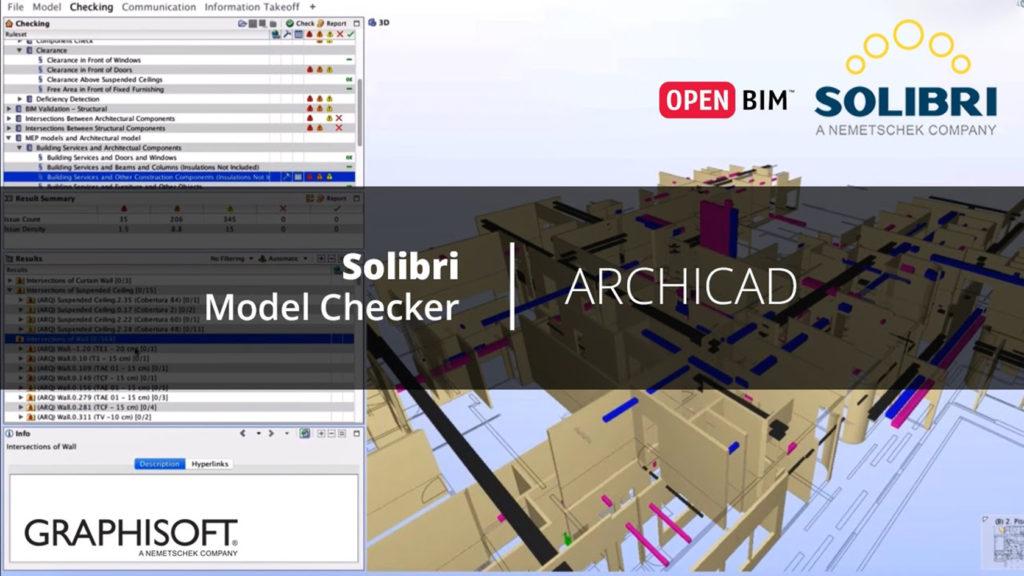 Graphisoft rilascia l'estensione Solibri per ARCHICAD 22