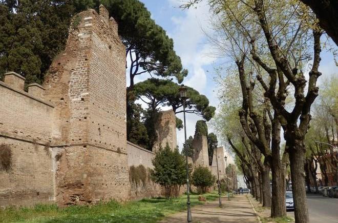 Droni, georadar e laser scanner per le Mura Aureliane