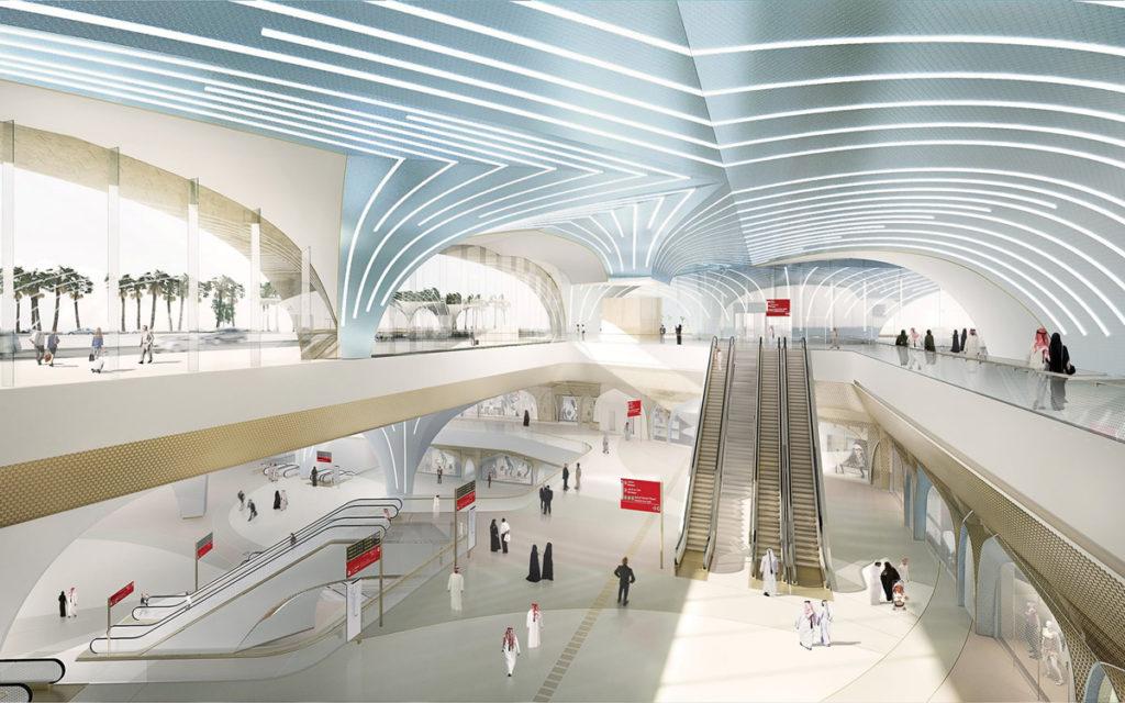 La nuova metropolitana di Doha