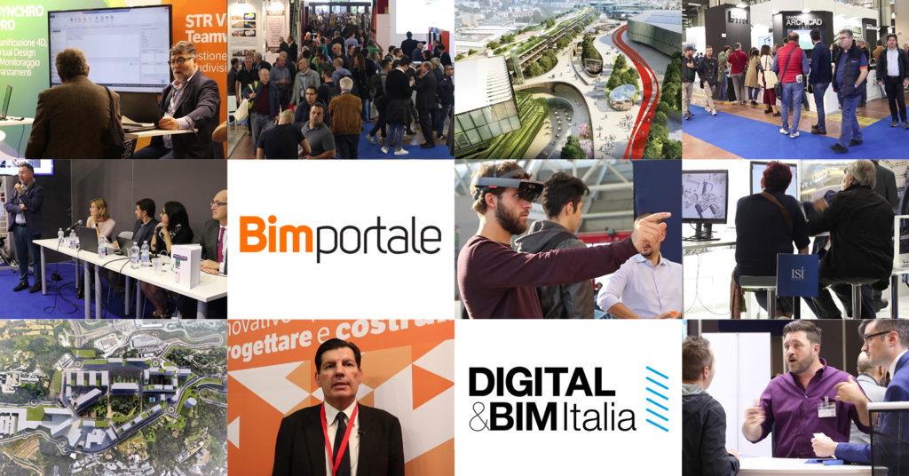 Digital&BIM Italia 2018: quattro giorni a tutto BIM