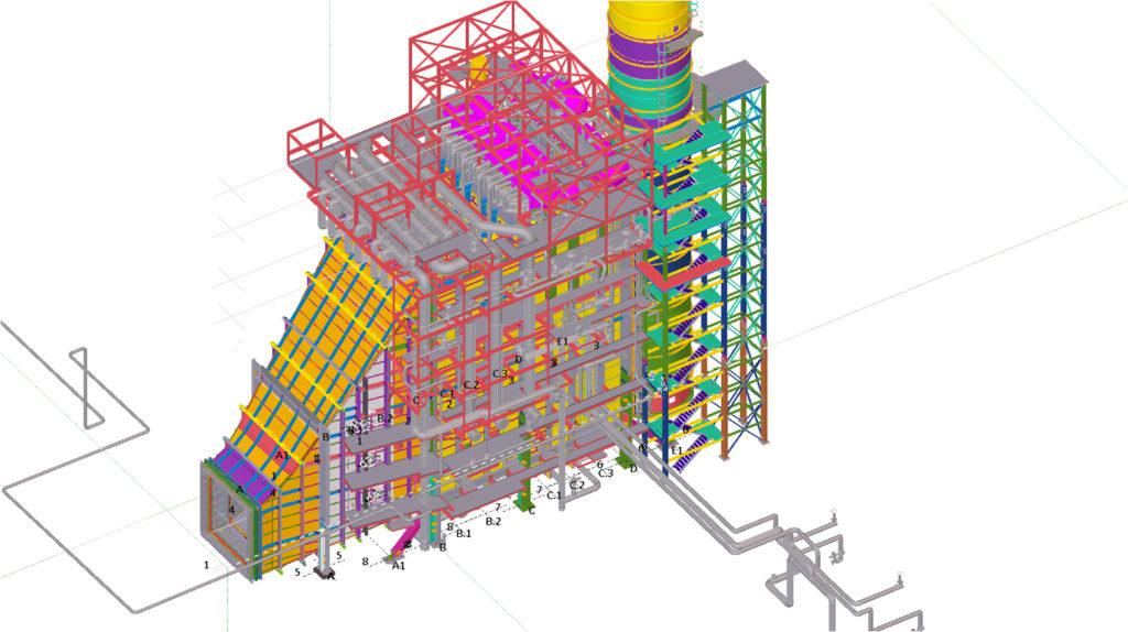 CUBE srl con Tekla Structures per lo Heris Power Plant in Iran