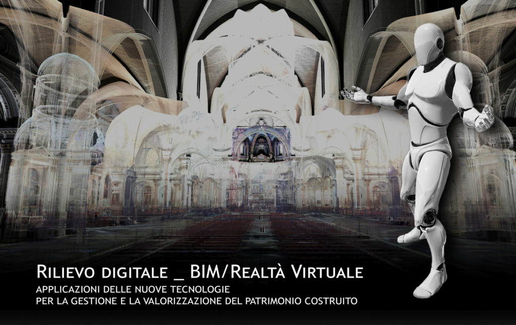 Rilievo digitale: BIM/Realtà Virtuale