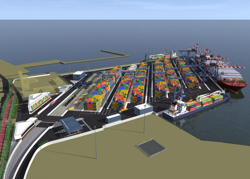 Exa Engineering con Tekla Structures per il Terminal del Golfo di La Spezia