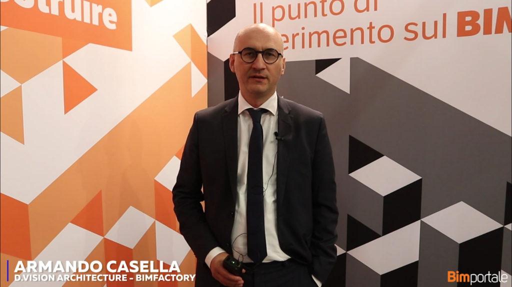 Armando Casella, D.Vision Architecture/Bimfactory: Il processo BIM per la Nuova Scuola Politecnica, il coordinamento di progetto di un'opera complessa