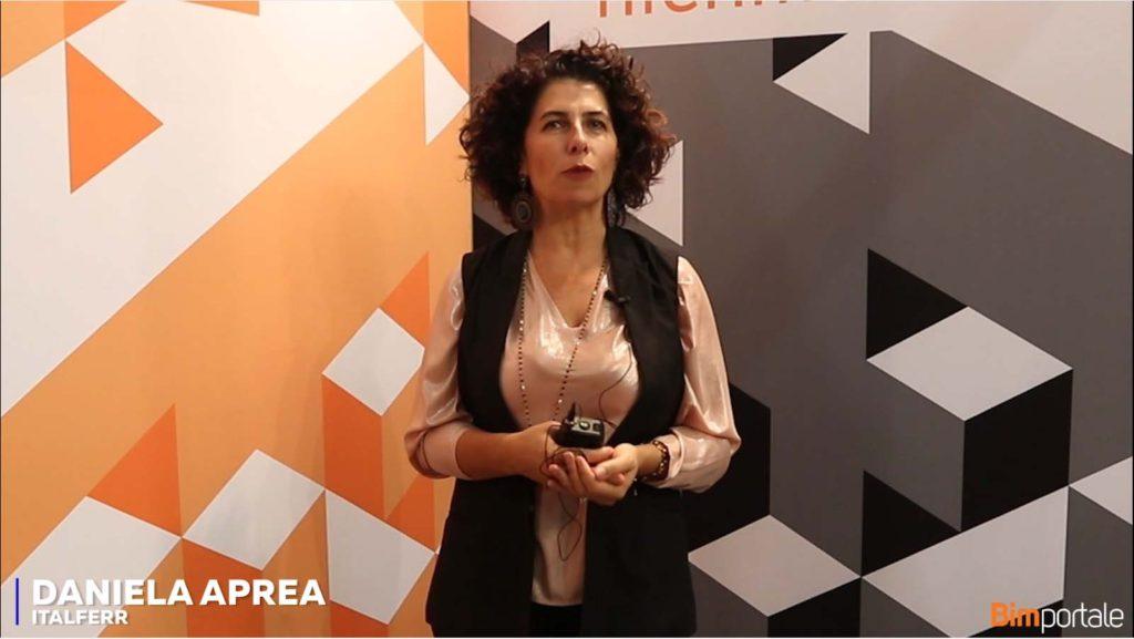 Daniela Aprea, Italferr: siamo nella direzione giusta per una vero sviluppo del BIM