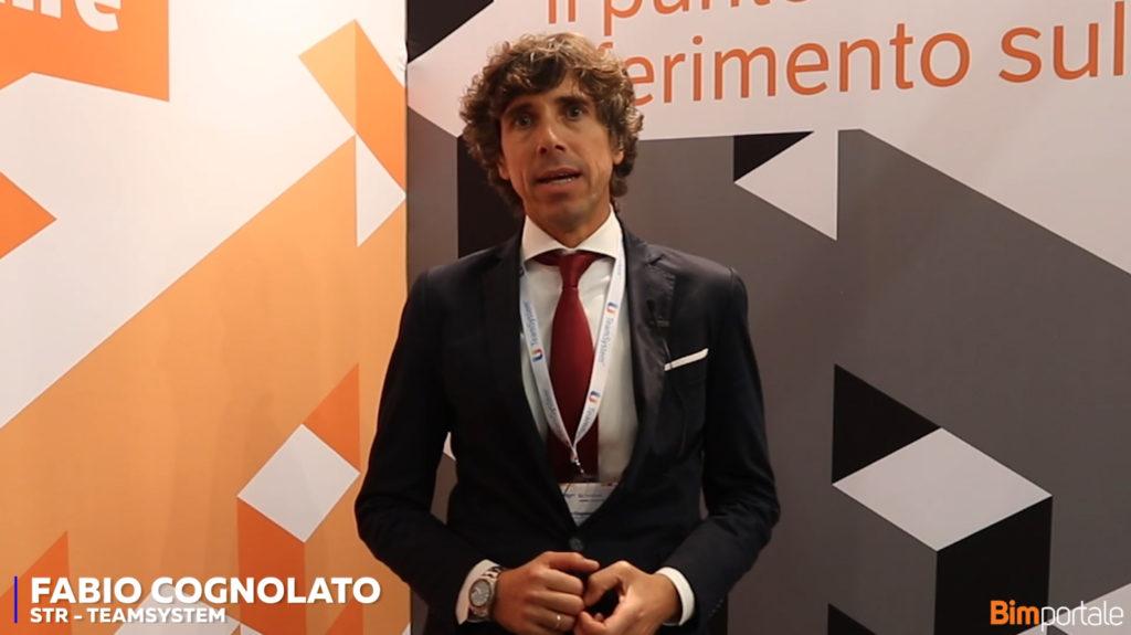 Fabio Cognolato, STR TeamSystem: pratiche soluzioni per il BIM in cloud