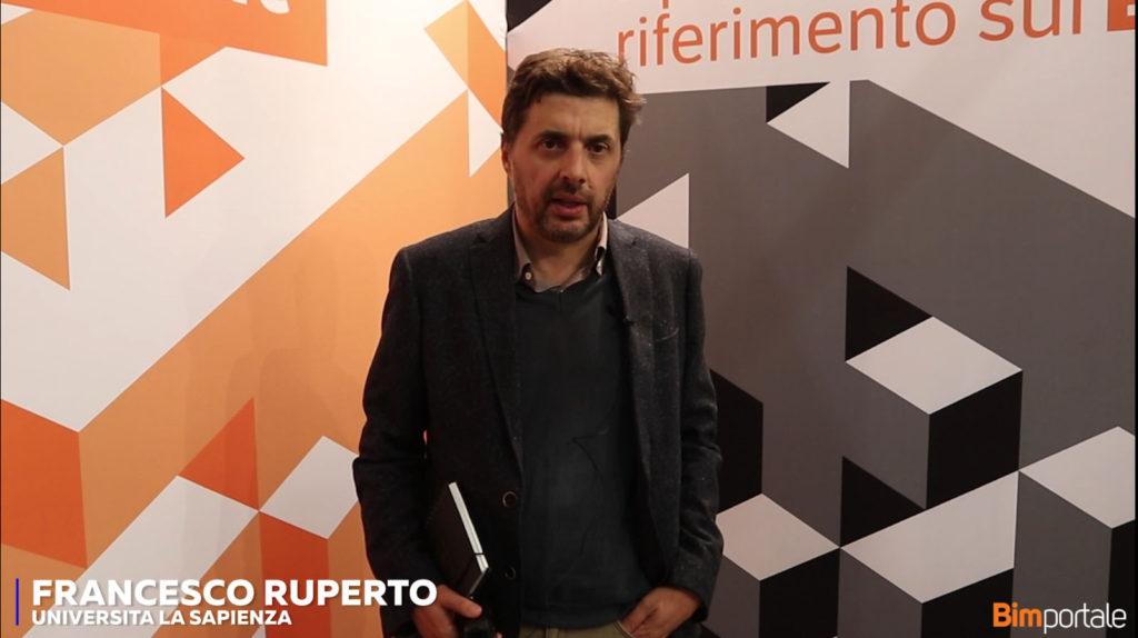 Francesco Ruperto, Università La Sapienza di Roma: Introduzione e approfondimenti accademici sul tema BIM nella Committenza Pubblica