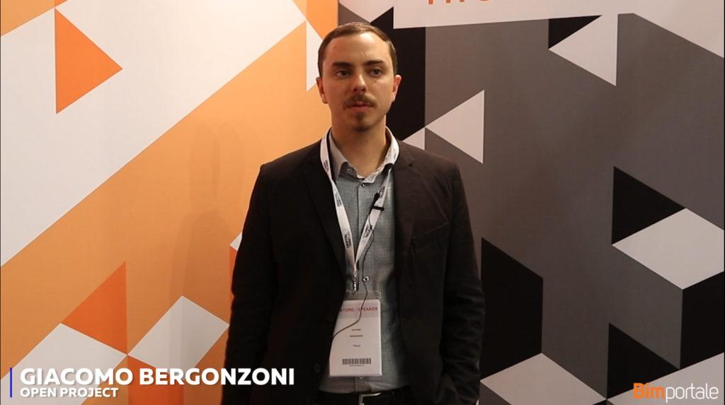 Giacomo Bergonzoni, Open Project: è necessaria una maggiore sensibilizzazione sul tema del BIM