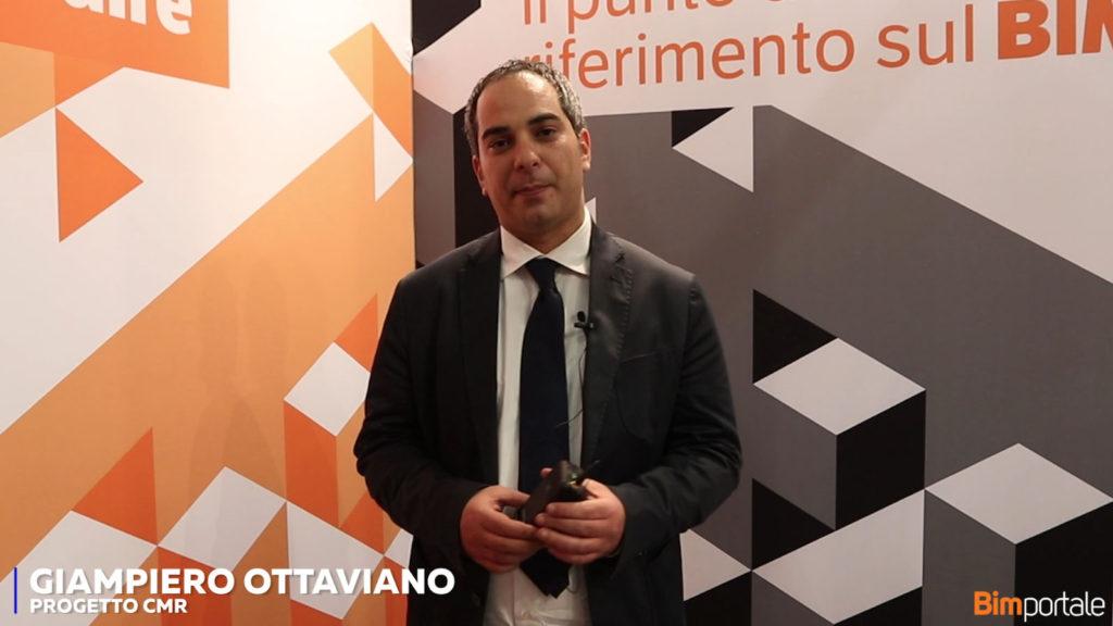 Gianpiero Ottaviano, Progetto CMR: Il processo BIM per la Nuova Scuola Politecnica – il progetto architettonico