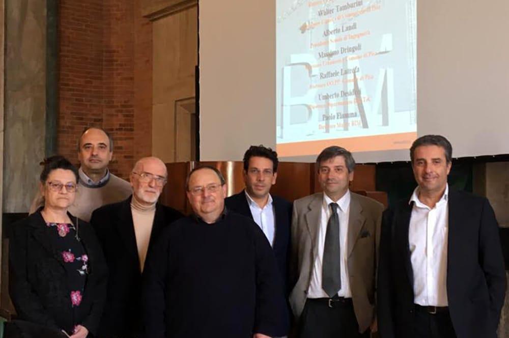 L'Università di Pisa inaugura la terza edizione del Master BIM