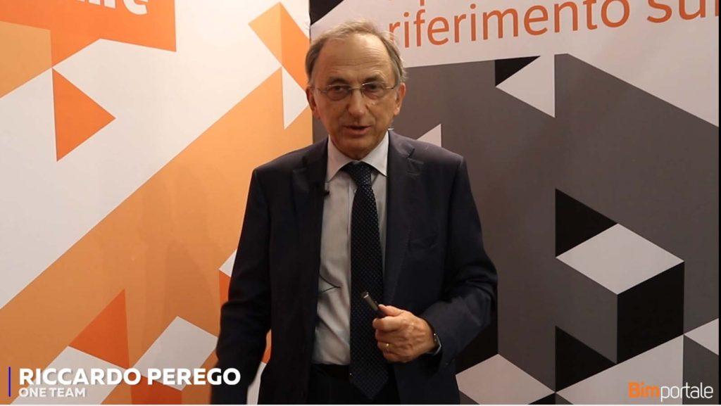 Riccardo Perego, One Team: pronti alla sfide del BIM
