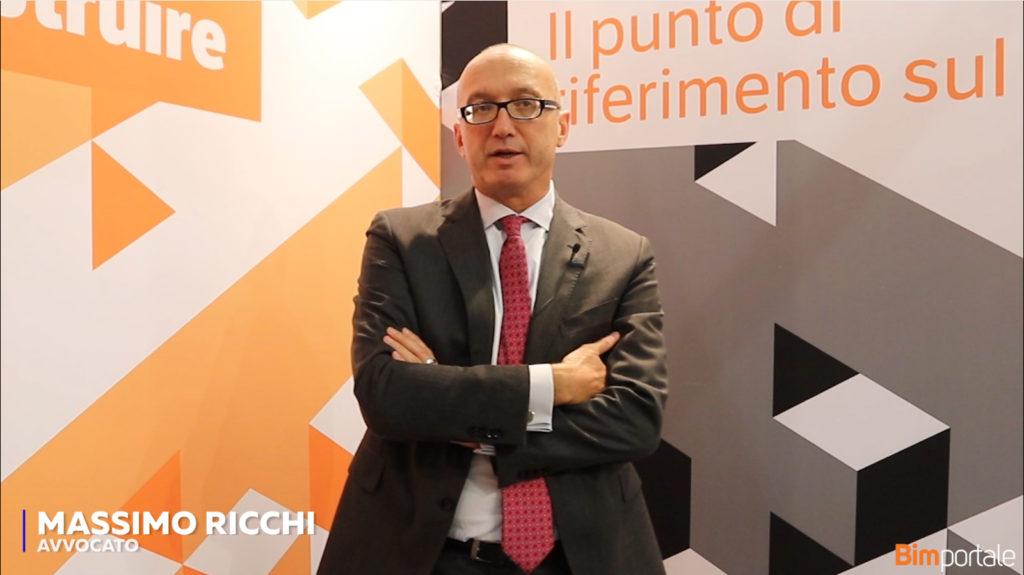 Massimo Ricchi: Infra BIM 7D – La normativa della manutenzione nel caso di concessioni e sua evoluzione