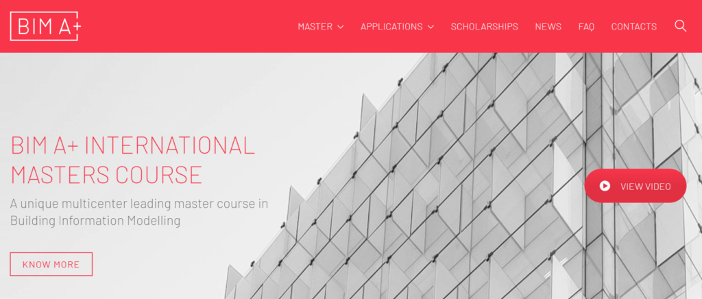 BIM A+ International Masters Course