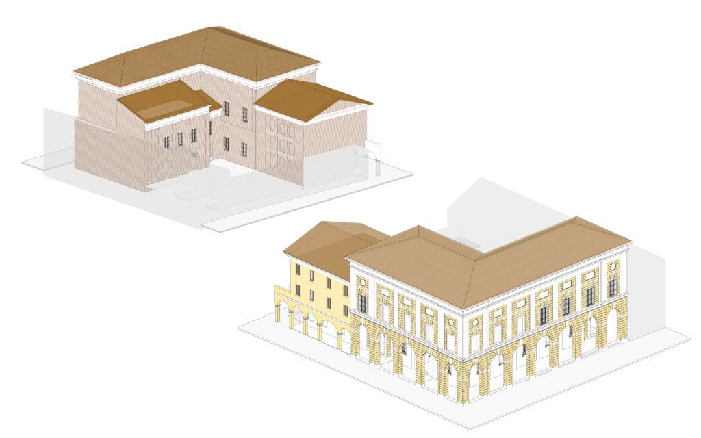 Progettare HBIM: il caso della Pinacoteca di Cento