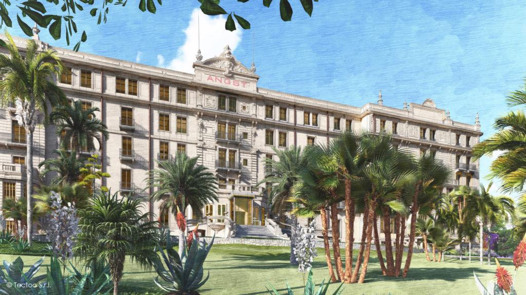 Riqualificazione dell'Hotel Angst a Bordighera