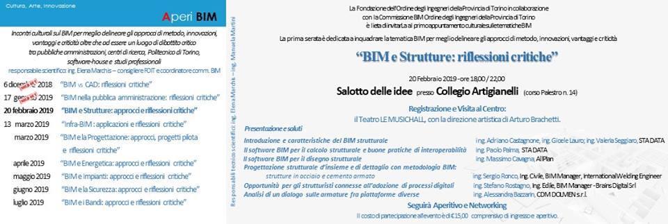 BIM e Strutture: approcci e riflessioni critiche