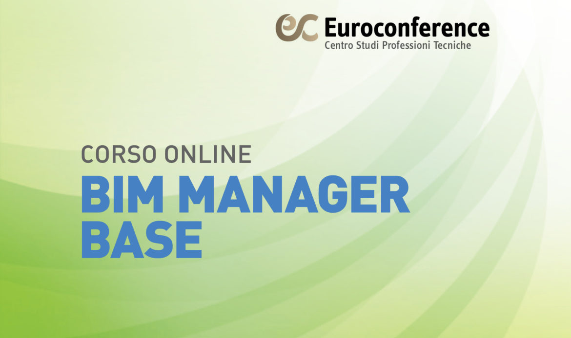 Corso BIM Manager Base on-line