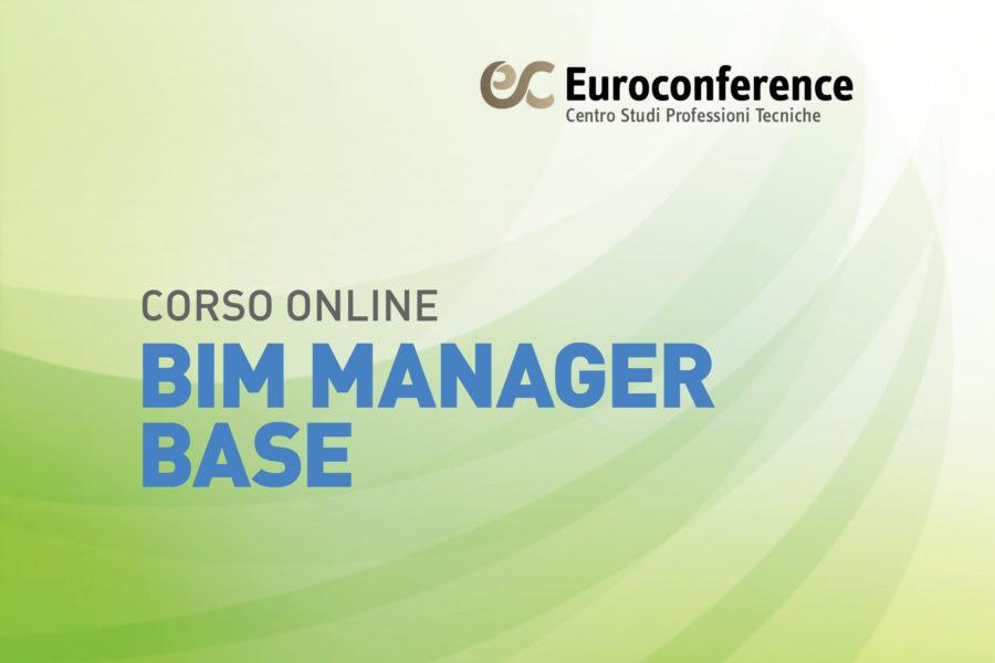 Corso BIM Manager Base on-line