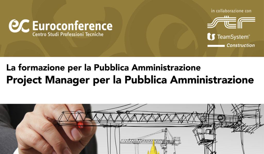 Project Manager per la Pubblica Amministrazione