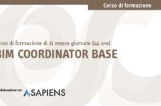 Corso BIM Coordinator Base in aula certificato A-Sapiens