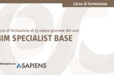 Corso BIM Specialist Base in aula certificato A-Sapiens