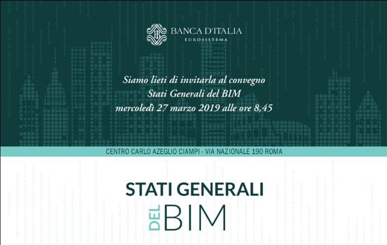 Gli Stati Generali del BIM di Banca d'Italia