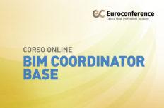 Corso BIM Coordinator Base on-line