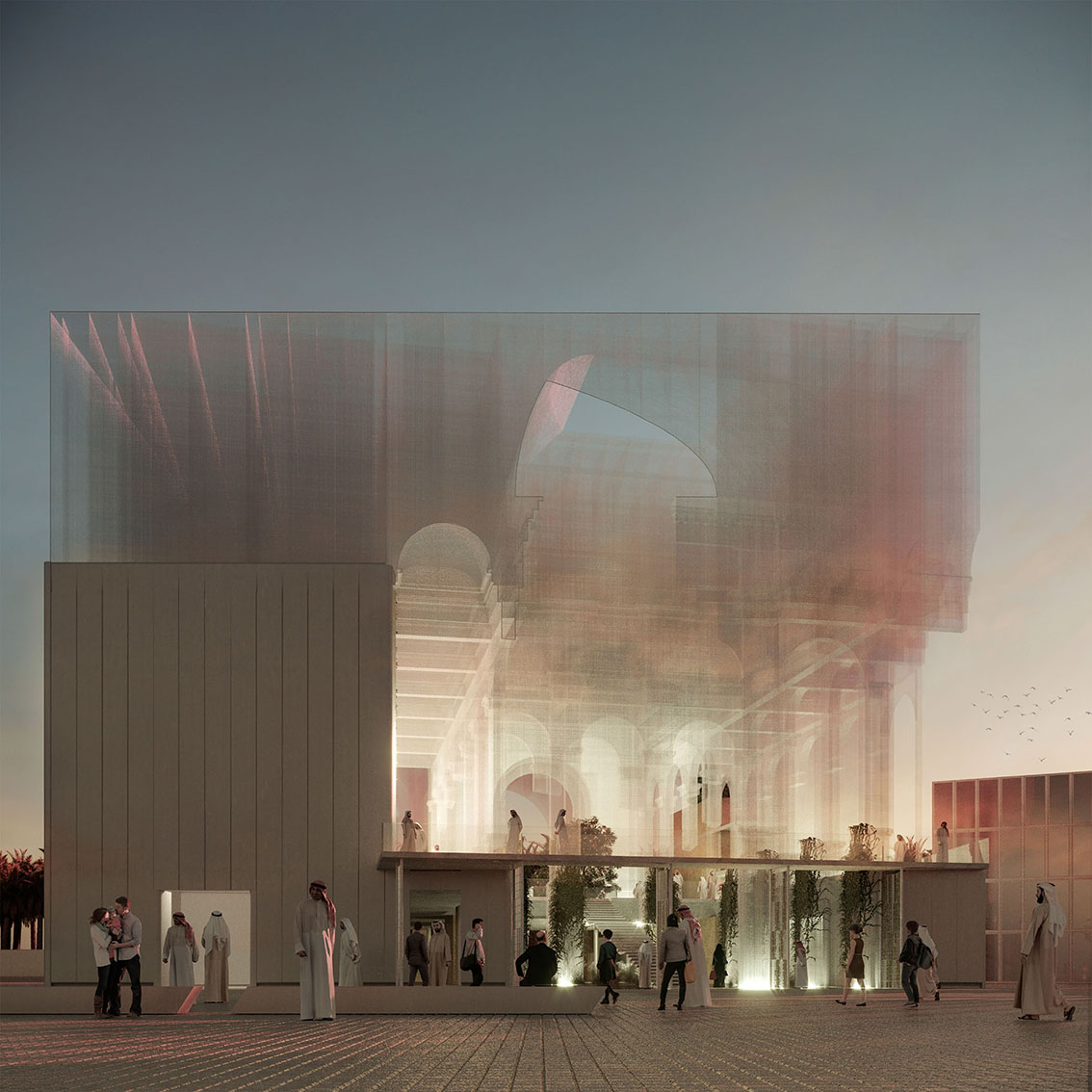 Padiglione Italiano Expo Dubai 2020 – terzo classificato